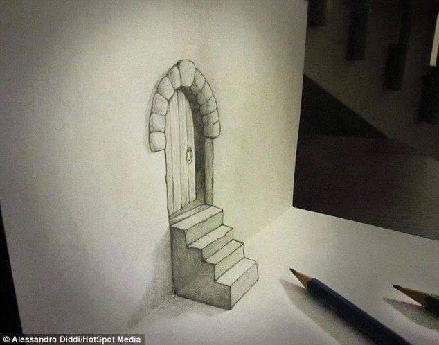 En Güzel 3D Kara Kalem Çizimleri 5