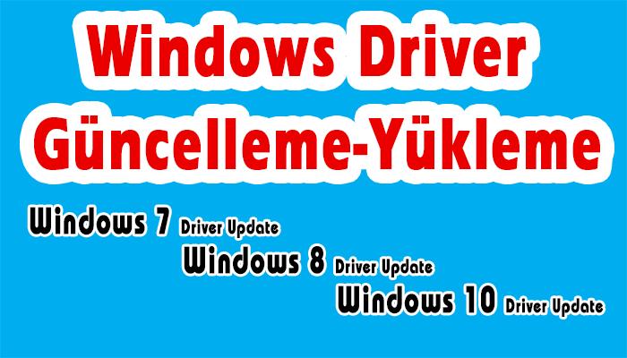 driver-yukleme-guncelleme-driver-update
