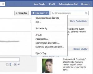 facebook-mesajlar