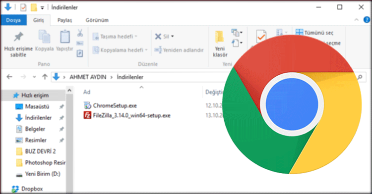 Chrome-indirme