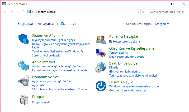 Windows-10-Denetim-masası