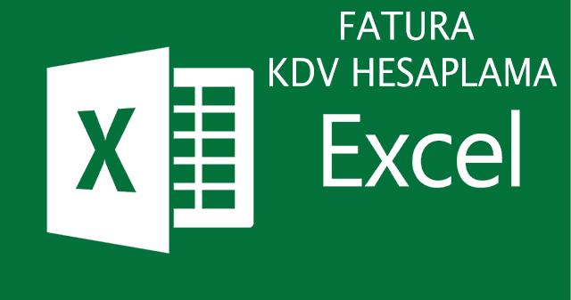 excel-fatura-kdv-hesaplama