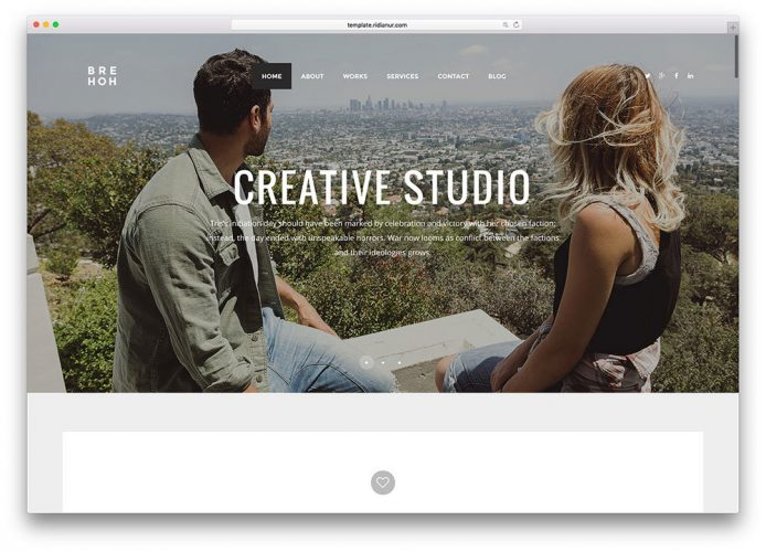 brehoh-simple-minimal-html5-agency-template